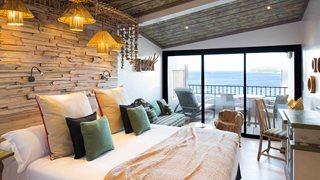 Die Zimmer des Hotels U Capu Biancu sind alle individuell eingerichtet.