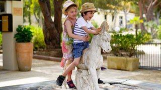 Das Feriendorf Zum Störrischen Esel ist perfekt geeignet für einen Familienurlaub und lässt jedes Kinderherz höher schlagen