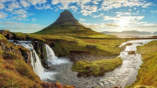 Landschaftliche Schönheit auf der Halbinsel Snaefellsnes in Westisland