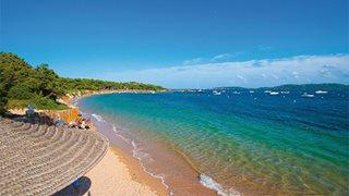 Der Strand Cala Rossa