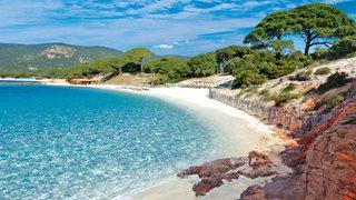 Der Strand von Palombaggia ist in unmittelbarer Nähe zur Villa Aria di Mare.