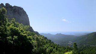 Das Bavella Massiv ist ca. 45 Fahrminuten von Unterkunft Mare e Monte entfernt.