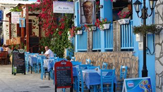 Traditionelle griechische Restaurants