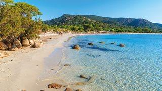 Der Strand von Palombaggia ist am Nähsten zur Ferienanlage Funtana Marina gelegen.